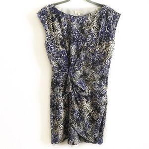 Shoshanna   Cap sleeve silk dress